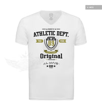 Men's Designer White T-shirt Property of RBD Athletic Dept. MD888