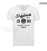 RB Design Originals Men's T-shirt Vintage Style Graphic Tee BLACK MD893