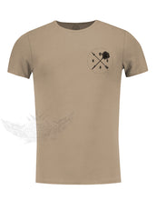 Men's Casual Rose T-shirt Pocket Style Saying Tee / Color Option / MD894