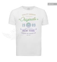 "RBD Originals Mens T-shirt Casual NY Street Fashion Tee 'Rainbow"" MD895R"