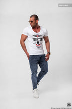 deep v neck designer t-shirt