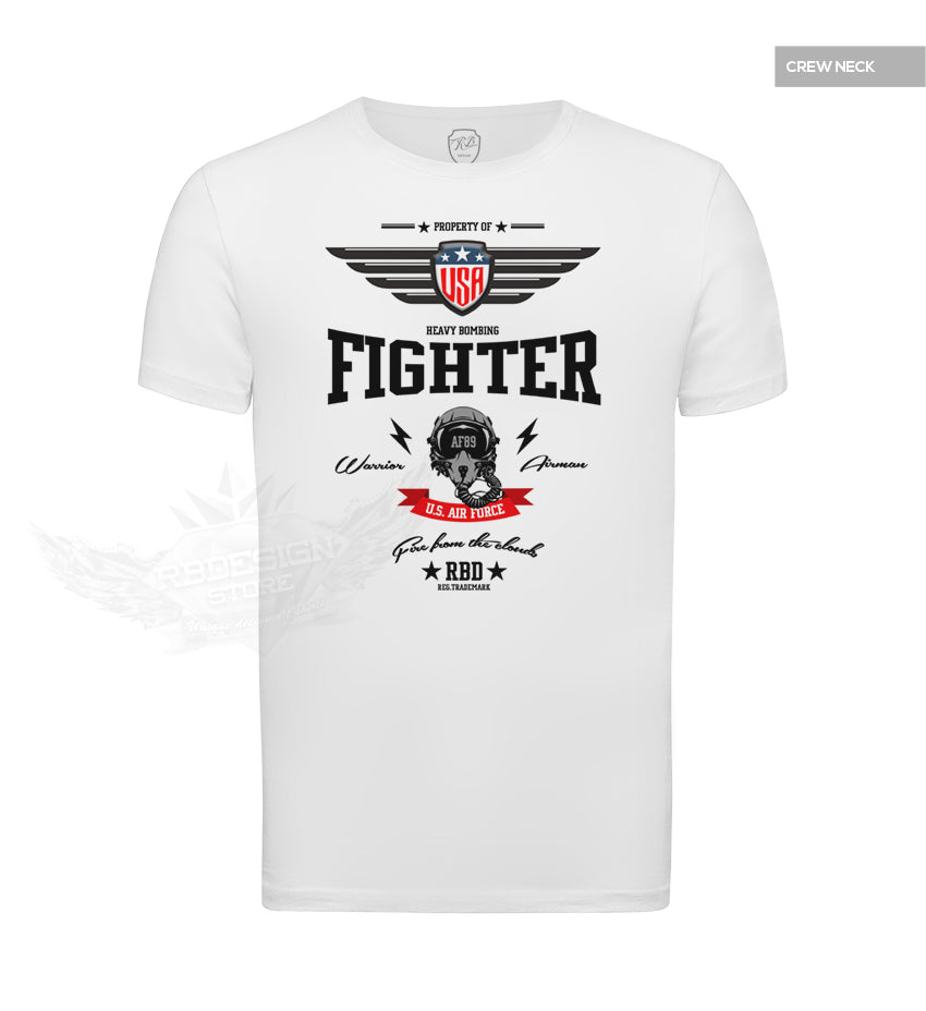 c0eca03f ... US Air Force Fighter Men's T-shirt RBD AF89 Stylish Graphic Tee MD896  ...
