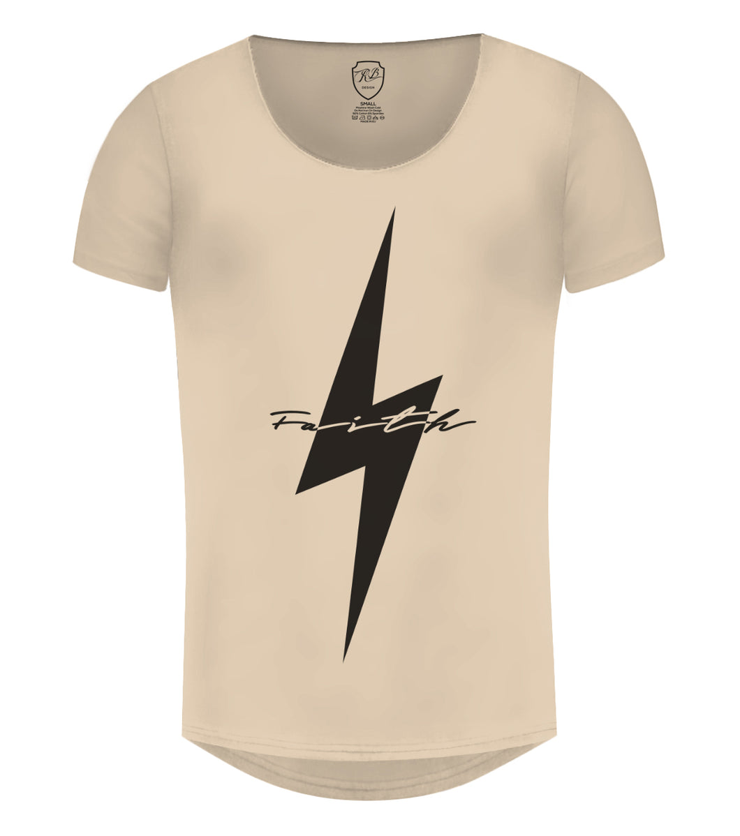 Cool Mens Casual T-shirt Flash Slim Fit Graphic Tee