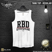 "Men's Training Tank Top ""RBD"" MD903R"