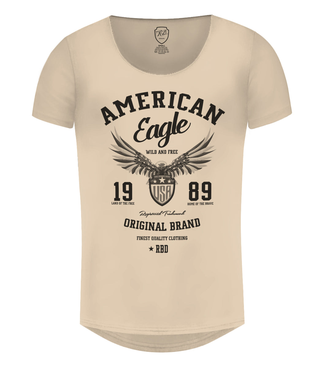 f3c9ebfa ... American Eagle Men's T-shirt Cool RBD Graphic Tee / Color Option /  MD913 ...