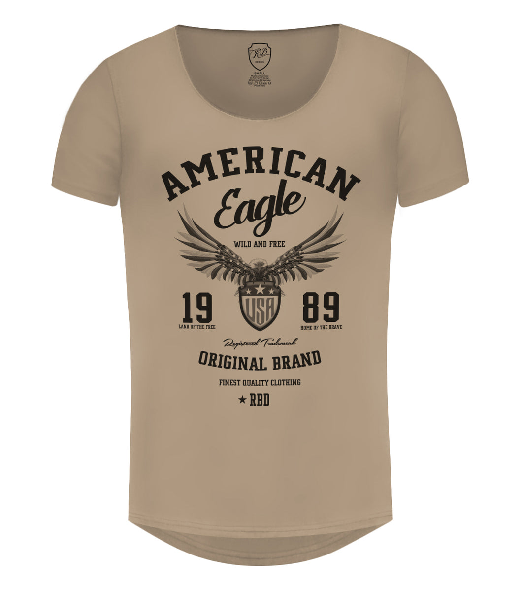b9b99f2f ... American Eagle Men's T-shirt Cool RBD Graphic Tee / Color Option / MD913