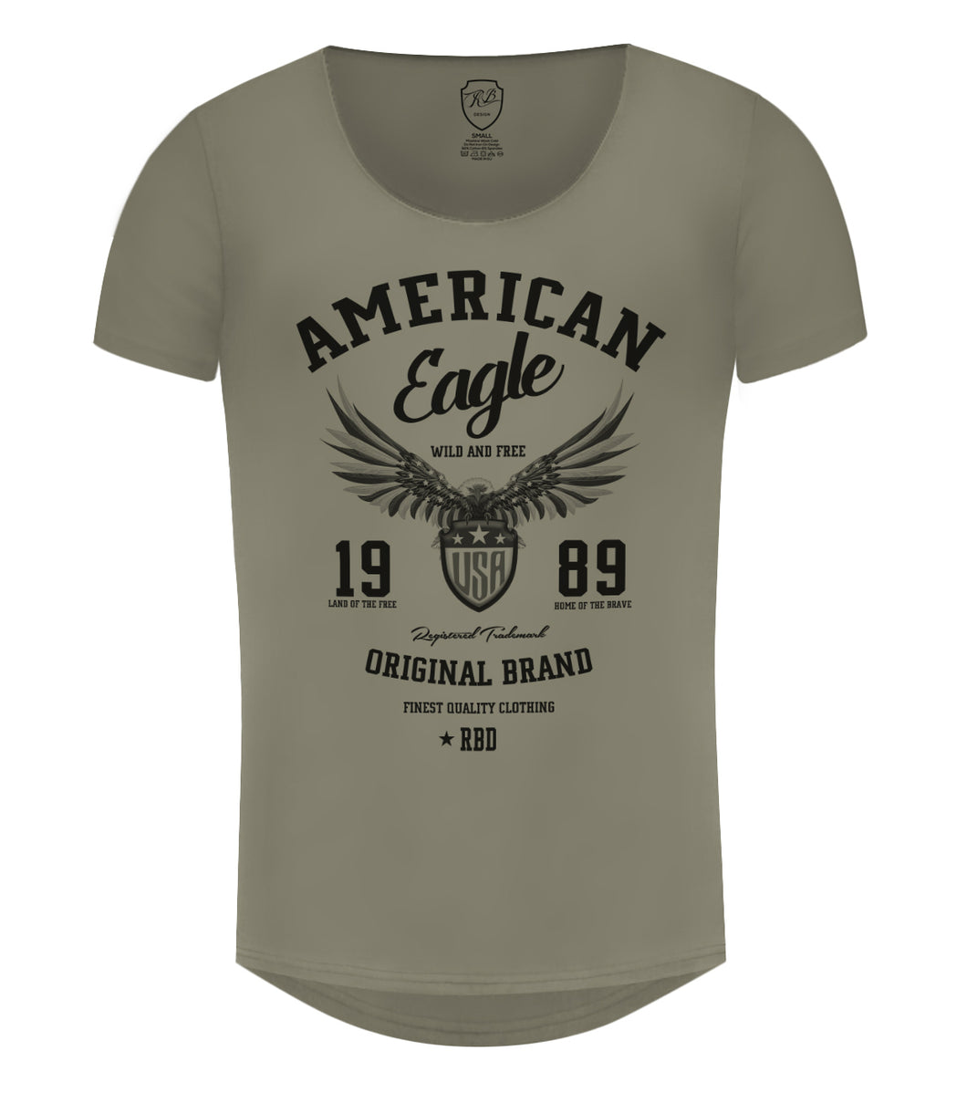 dbe1c20e American Eagle Men's T-shirt Cool RBD Graphic Tee / Color Option / MD913
