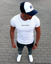 Casual Men's T-shirt ALWAYS HUNGRY Saying Street Fashion Tee MD916