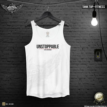 "Men's Training Tank Top ""Unstoppable"" MD920"