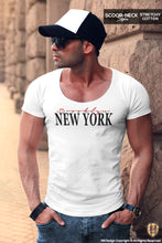 scoop neck new york t-shirt