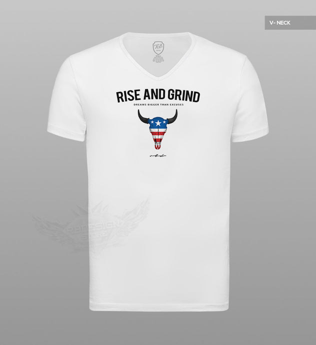 Men's T-shirt Rise And Grind  MD932