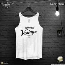 "Men's Training Tank Top ""Superior Vintage"" MD934"