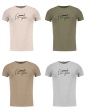 "Men's T-shirt ""Original Gangster"" Khaki Gray Beige / Color Option / MD937"