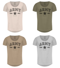 Mens T-shirt Army MD944