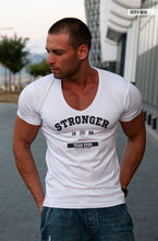 "Mens T-shirt ""Stronger"" MD957"