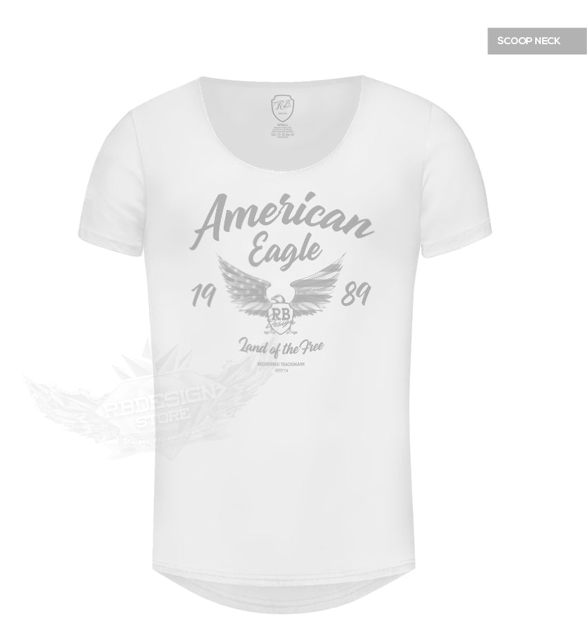 Mens T-shirt American Eagle MD960 Gray