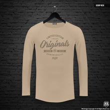 "Mens Long Sleeve T-shirt ""Originals"" MD961"