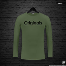 "Mens Long Sleeve T-shirt ""Originals"" MD963"