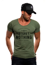 "Men's T-shirt ""Regret Nothing"" MD982"