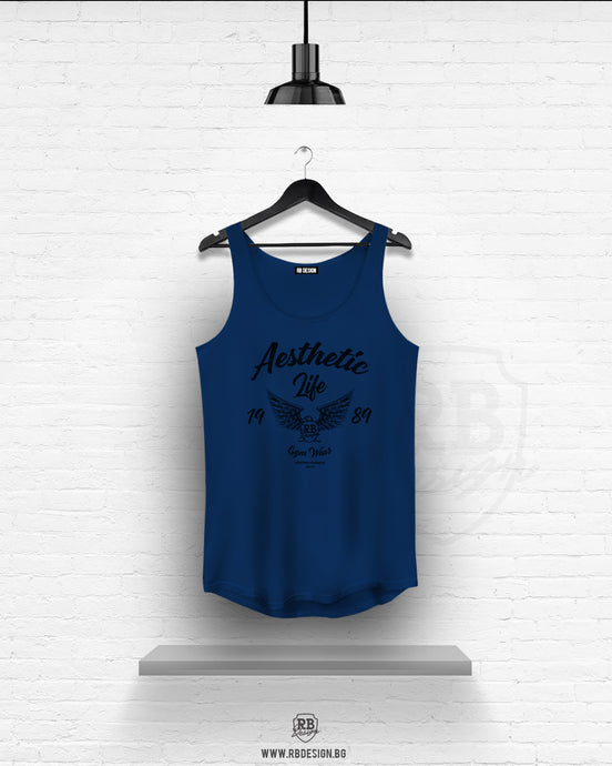 Men's Blue Tank Top