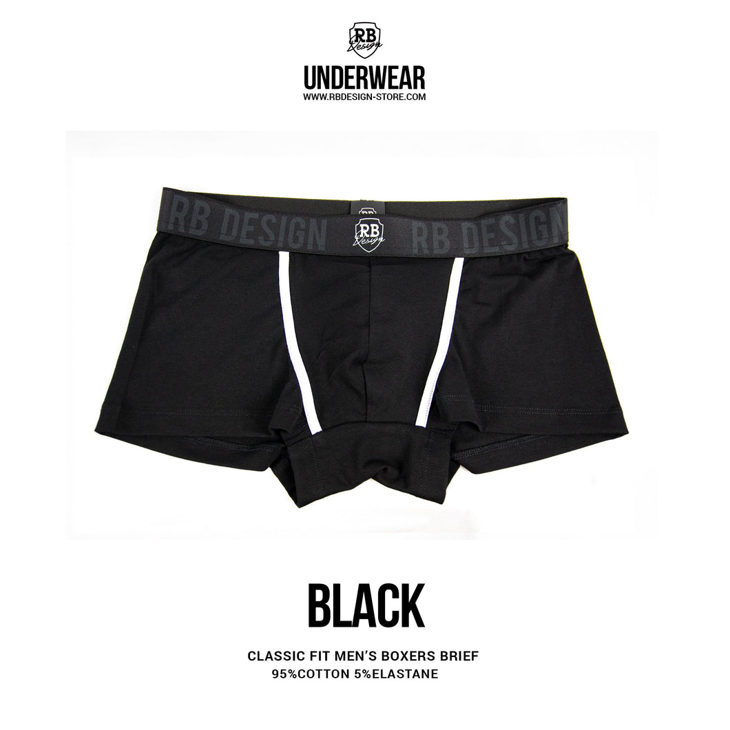 black boxer briefs premium quality rb design