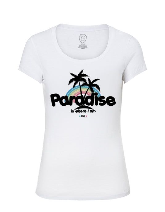 Paradise Cool Trendy Women's Top  WD353