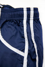 Bundle Dark Blue Mens Swimming Shorts + Blue White Hat BW02DBBW