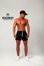 Bundle 3 - Black Mens Swimming Shorts + Black Hat + Tank Top MD932