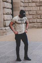 "Men's T-shirt ""ARMY"" RB Design US FLAG / Color Option / MD711 F"