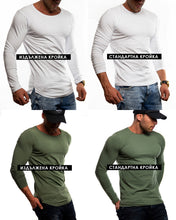 "Casual Mens Long Sleeve T-shirt ""Originals"" MD893"