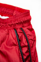 Bundle Red Mens Swimming Shorts + Black Hat BW01RB