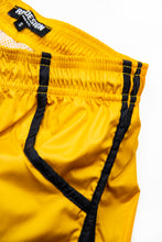Bundle Yellow Mens Swimming Shorts + Black and White Hat BW02YBW