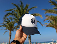 Deep Blue/White Beach Hat With RB Design Logo Unisex