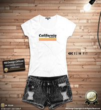 "Women's Designer T-shirt With Sayings ""California"" WTD27"