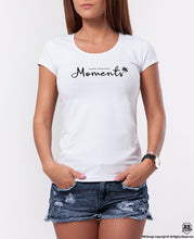 "Women's T-shirt ""Create Beautiful Moments"" WTD38"