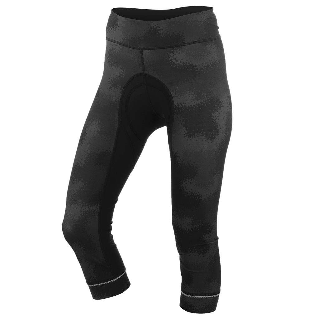 Camo Brave Cycle Capri-FINAL SALE*