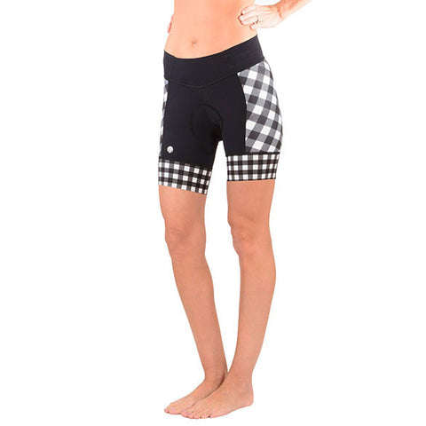 GINGHAM DAISY SHORT