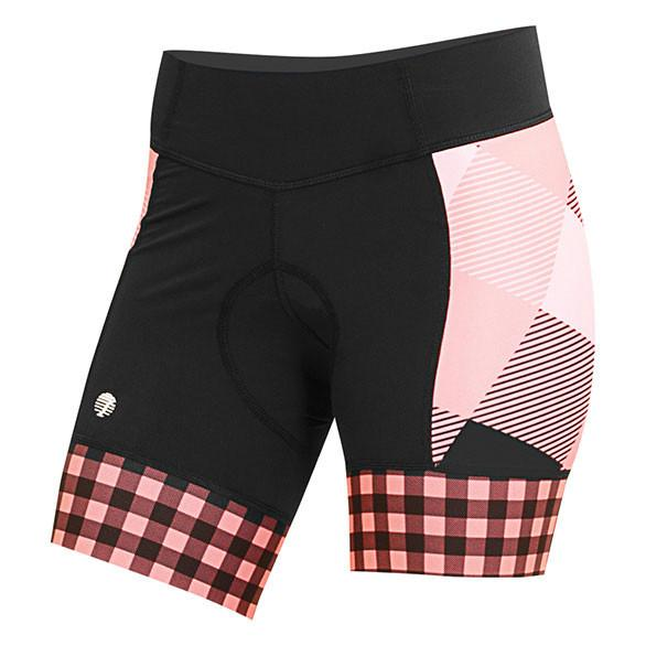 TRI LARGE GINGHAM DAISY SHORT