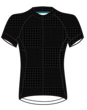 Black Tonal Houndstooth Divine Plus Jersey