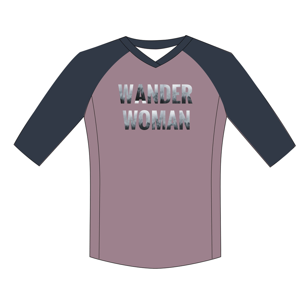 Wander Women Rally 3/4 Sleeve MTB PLUS Jersey