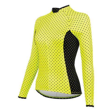 BELLISSIMA POLKAMANIA LONG SLEEVE PLUS JERSEY