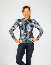Cycle by Southwest Bellissima LS Jersey PLUS