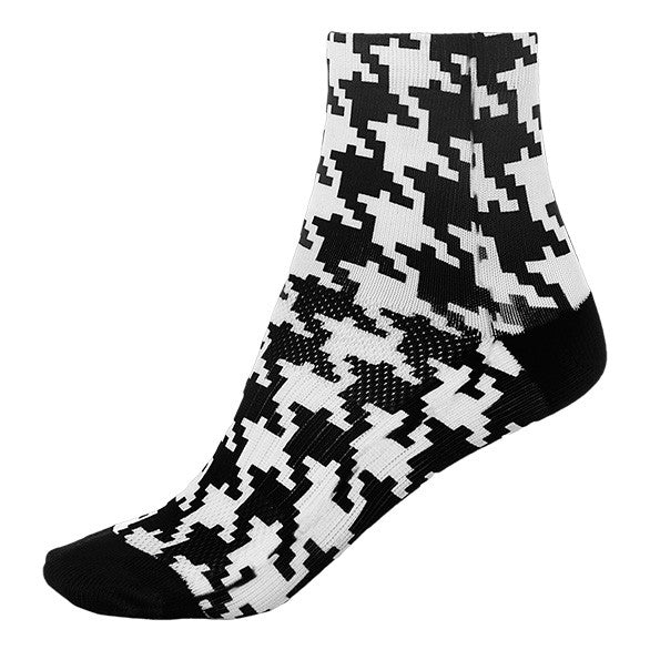SHORT HOUNDSTOOTH SOCK