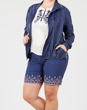 Denim Veneer Jacket