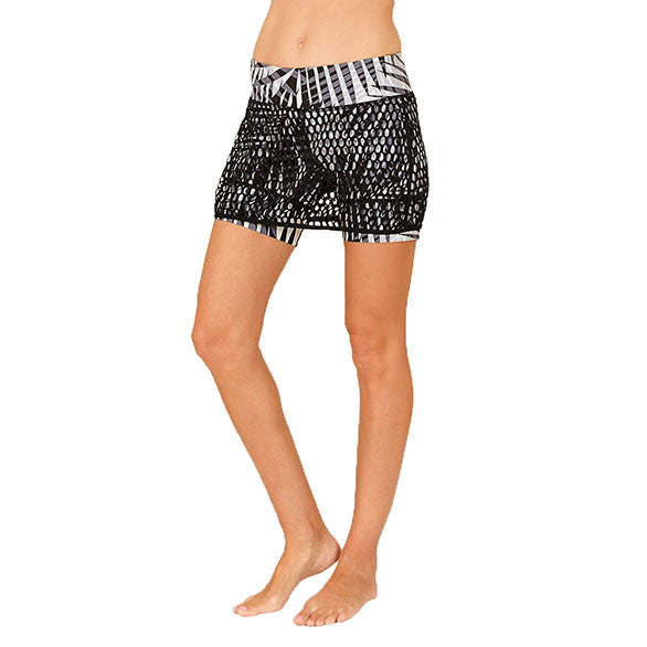 MESH MINI LADY PALM SHORT