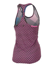 BURN GINGHAM ACTIVE TANK- FINAL SALE
