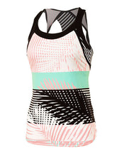 ENTWINE PALM STRIPE 2 IN 1 TANK