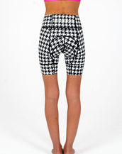 Houndstooth Petunia Short