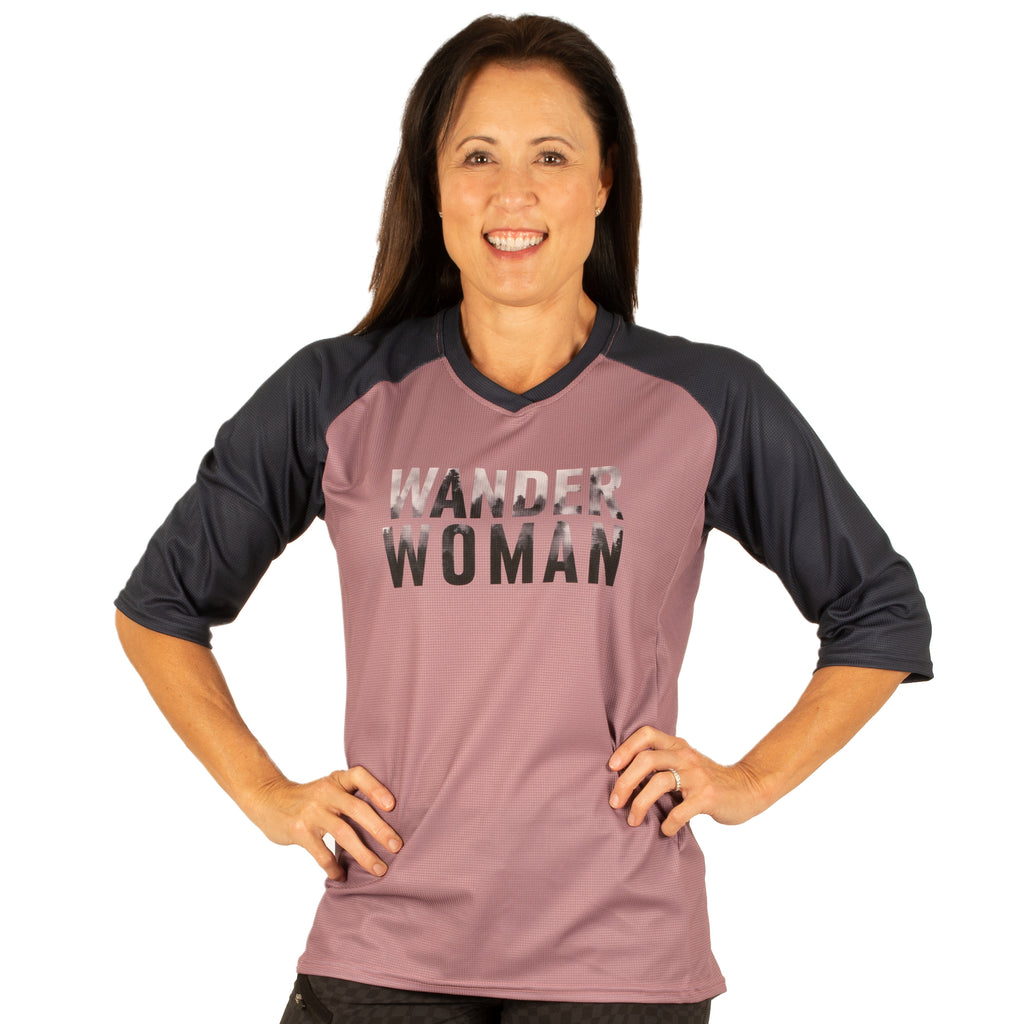 Wander Women Rally 3/4 Sleeve MTB Jersey