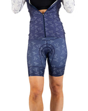 In Flight Petunia Bib Short